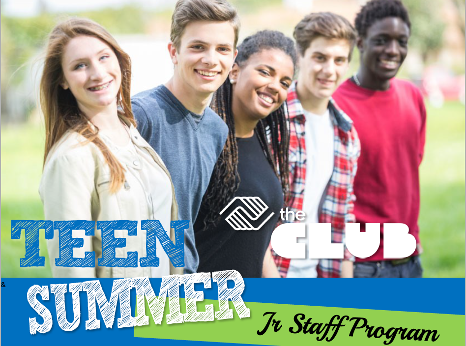 Teen Summer Club with teens smiling