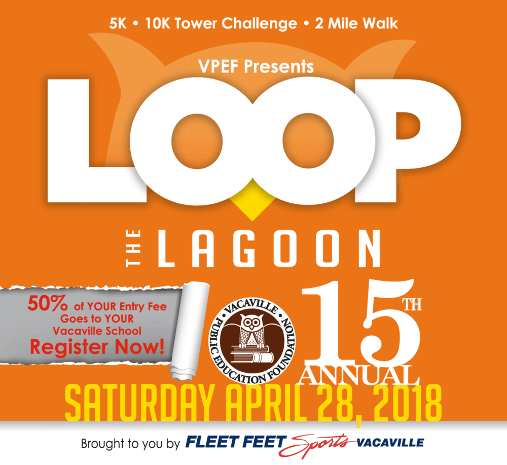 Loop the Lagoon fundraiser April 28th