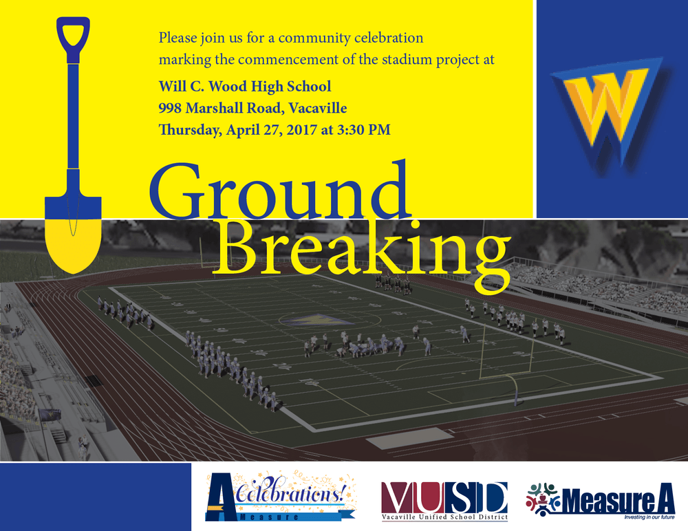 Wildcat Stadium Ground Breaking April 27th
