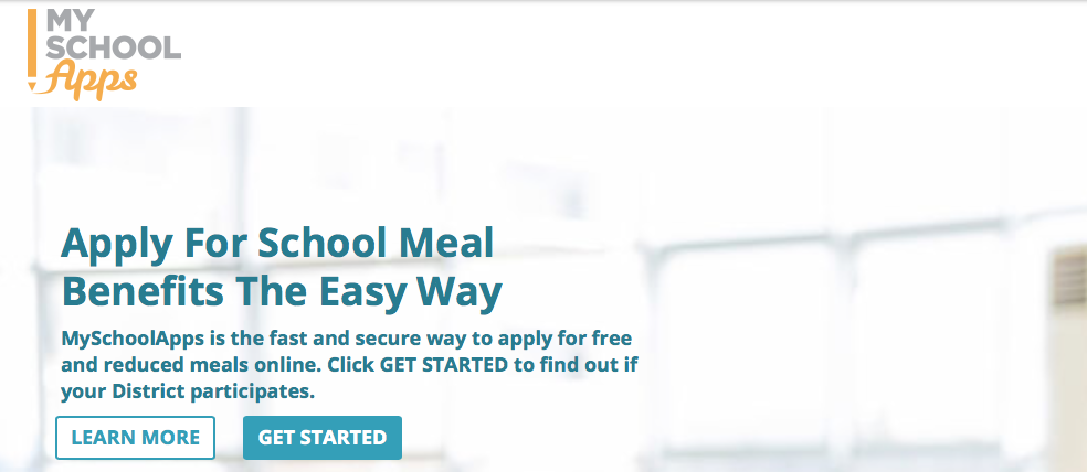 online portal for reduced lunch