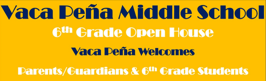 Vaca Pena Open House Flyer