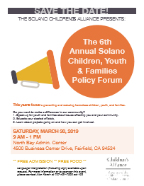 Solano Youth Policy Forum